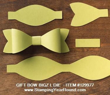 Gift bow bigz l die