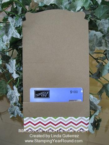 Pop n cuts die gift card holder b