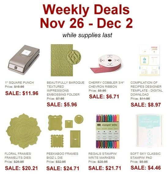Weekly deal