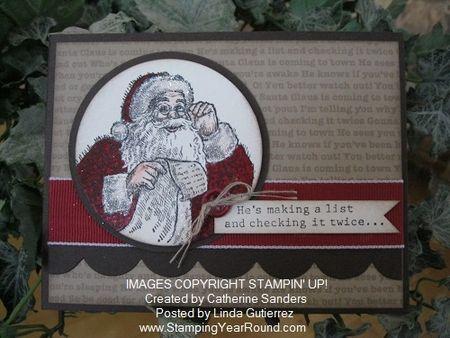 Santa's list catherine sanders