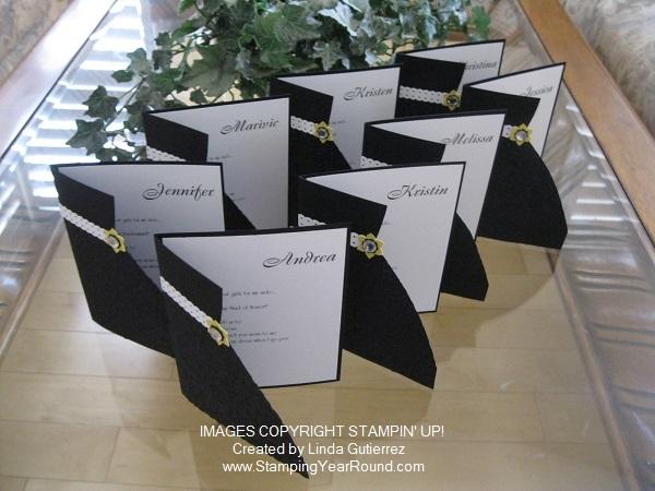 Brides maids invites b