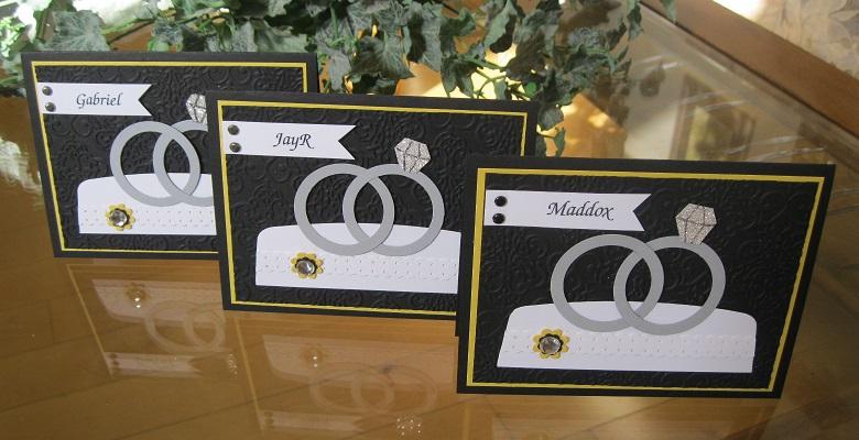 Ring bearer invites