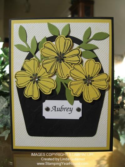 Flower girl invites aubrey