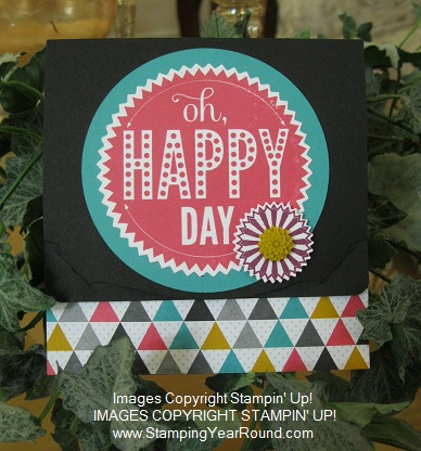 Happy Day Gift Card Holder
