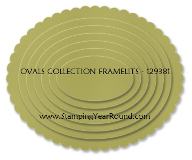 Ovals collection framelits