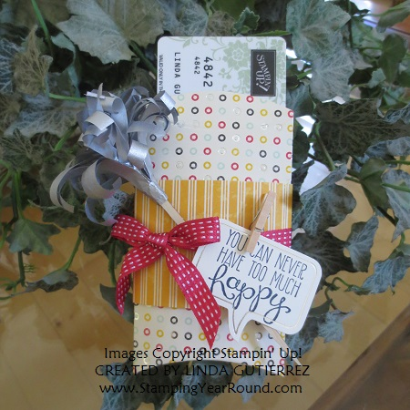 A little sumthin' sumthin' simply created gift box with gift card