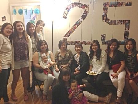Andrea 25th surprise b