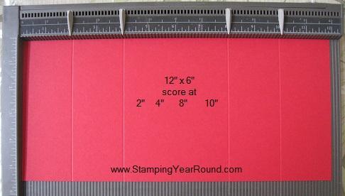 Z fold gate card