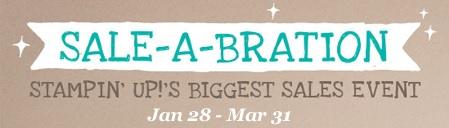 Sale a bration banner