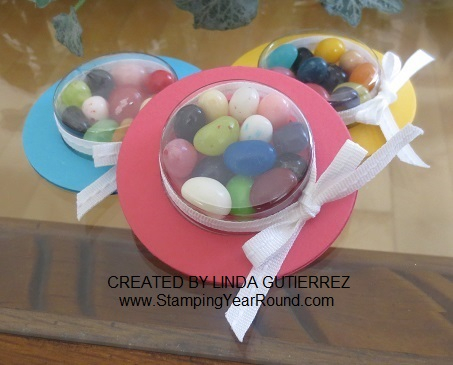 EASTER BONNETS WITH TREAT CUPS