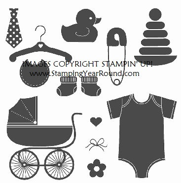 Something for Baby Stamp Set