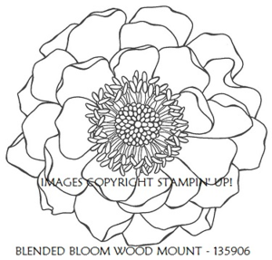 BLENDED BLOOM SINGLE STAMP