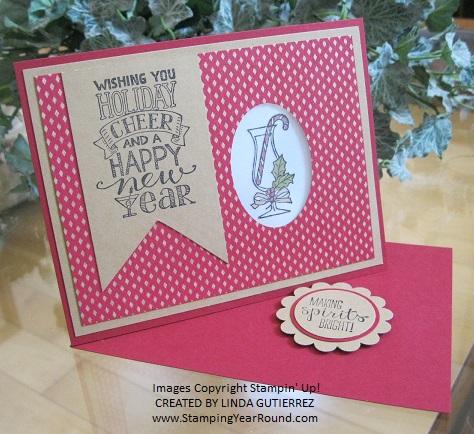 Diagonal tealight card 1