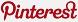 Pinterest logo for sidebar